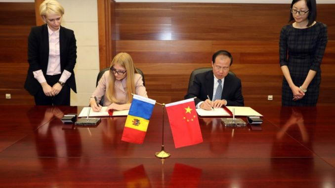 Moldova and China Free Trade Agreement 2018